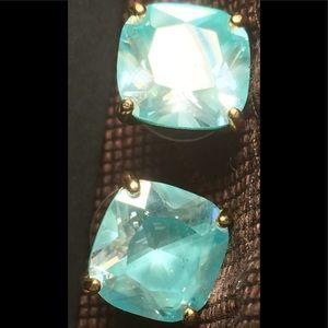 Aqua green Kate Spade earrings, NWOT never worn